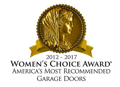Womens Choice Award For Garage Doors 2017