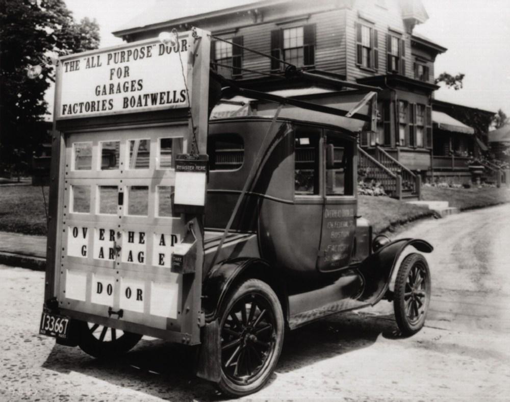 Overhead Door Prototype on Model T: image courtesy of Overhead Door